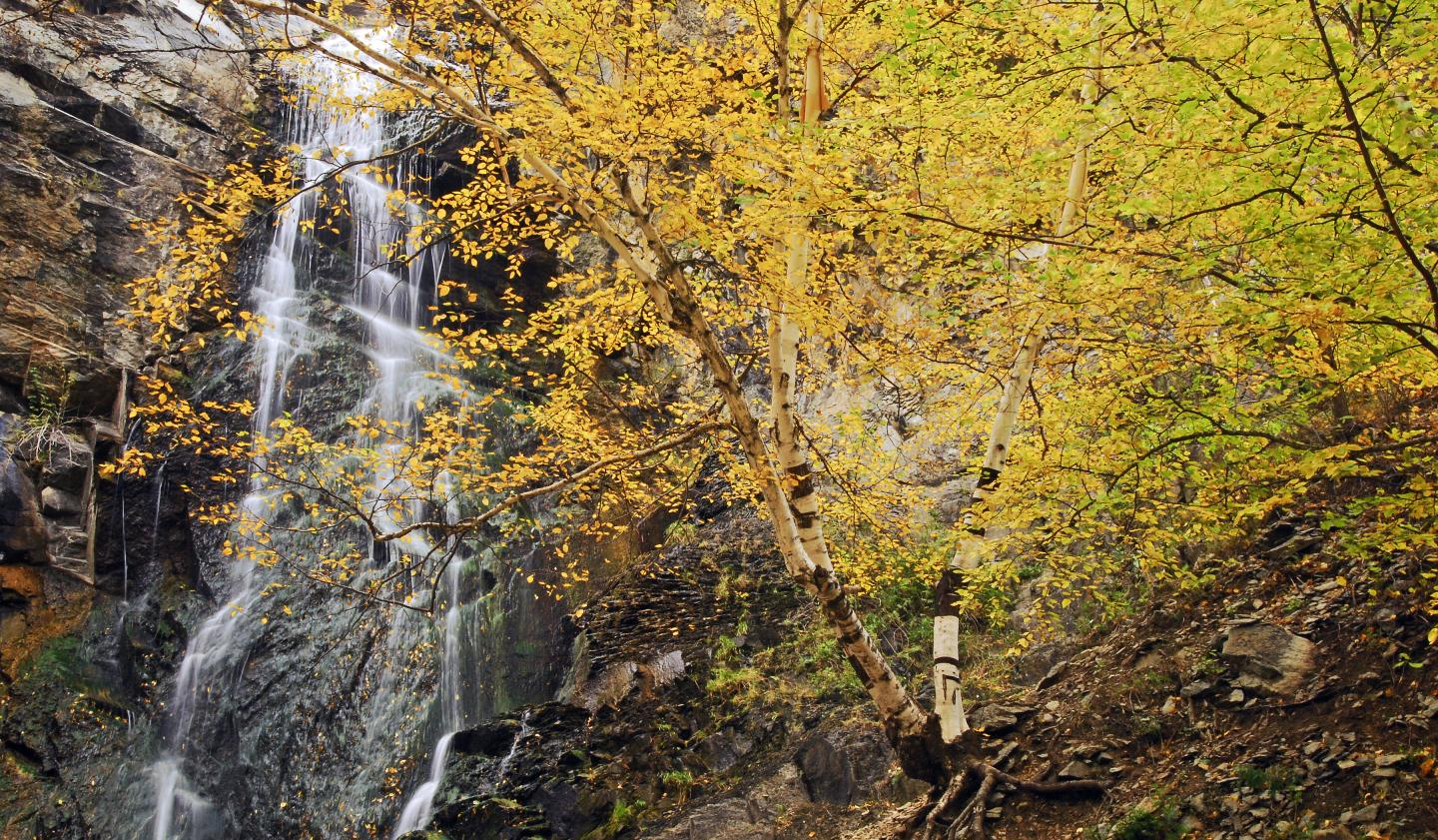 Bridal Veil Falls, Spearfish Canyon