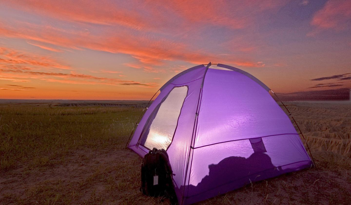 Camping, Badlands National Park