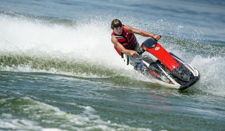 Jet Skiing - Missouri River
