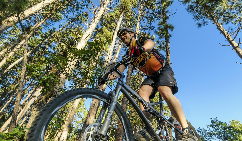 Black Hills mountain biking