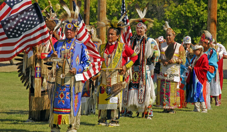 Wacipis or powwows are Native American dances.