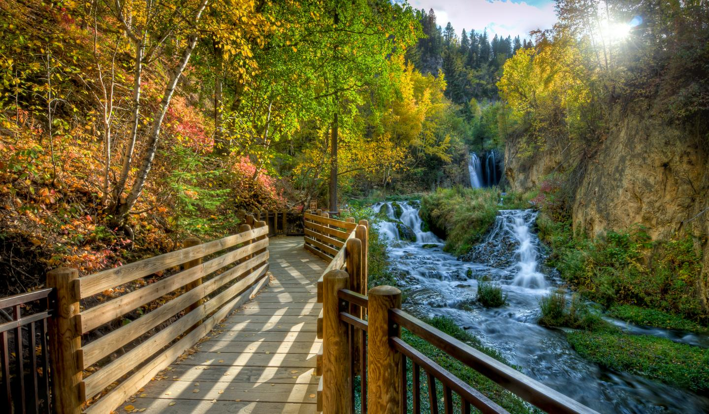 Roughlock Falls, Spearfish Canyon