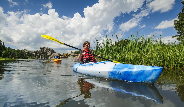 Kayaking - Sylvan Lake