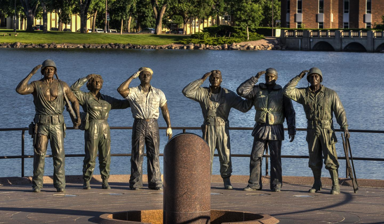 World War II Memorial - Pierre