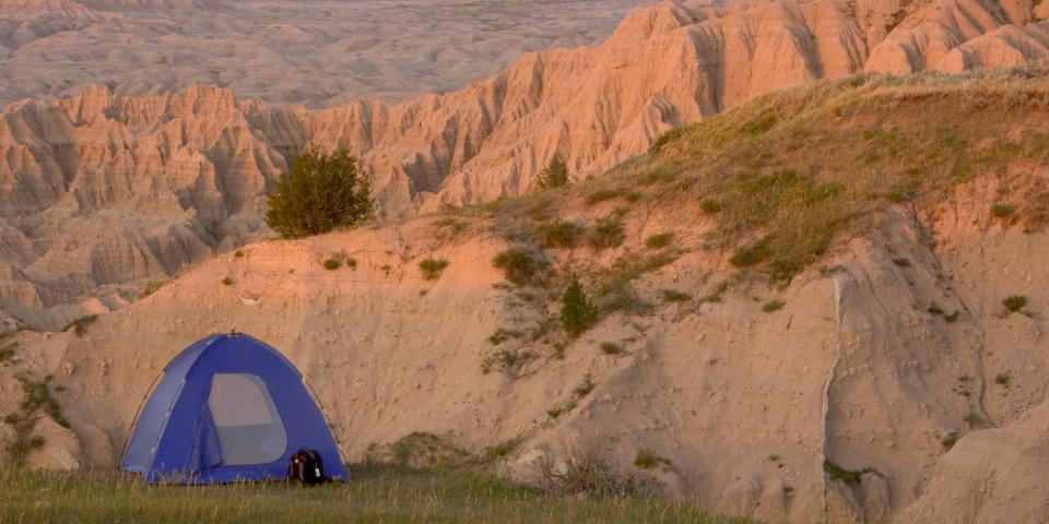 Camping, Badlands National Park