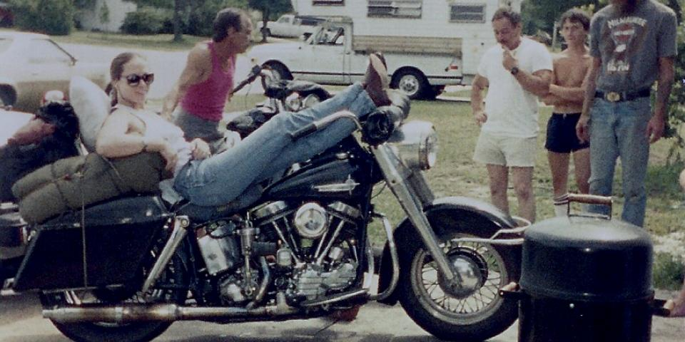 Nancy's first sturgis