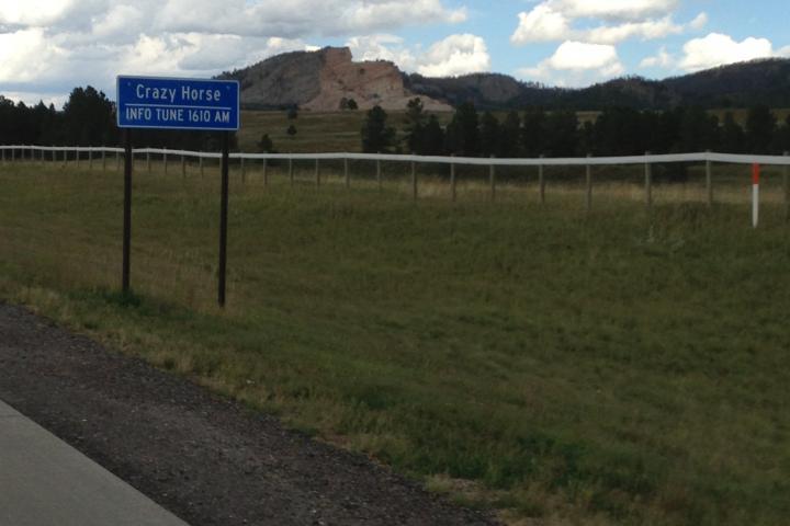 Crazy Horse welcome