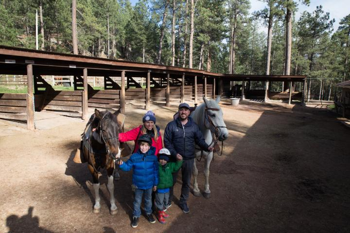 Blue Bell Stables, Custer State Park