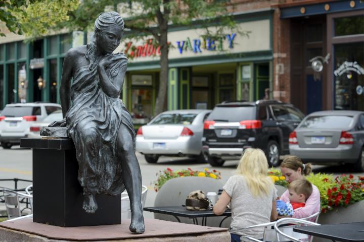 SculptureWalk, downtown Sioux Falls