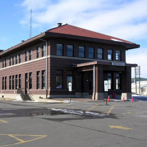 Old Milwaukee Train Depot, Aberdeen