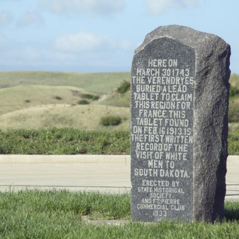 Verendrye Monument, Fort Pierre