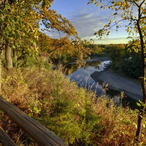 Good Earth State Park, near Sioux Falls