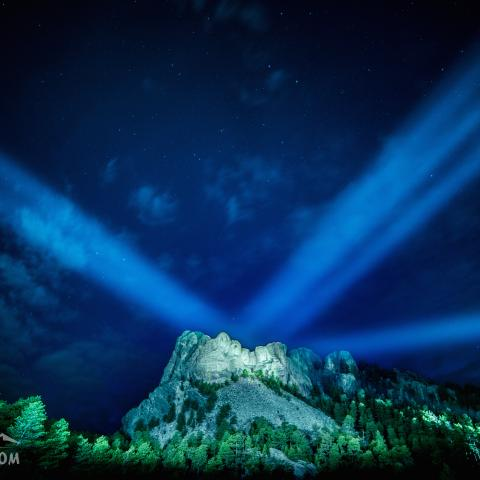 Mount Rushmore National Memorial, by JJ Yosh