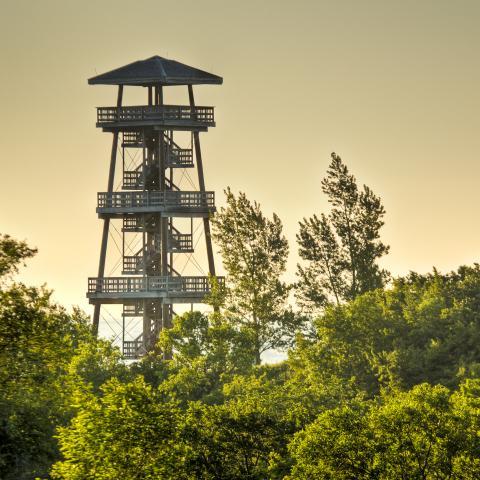 Nicollet Tower and Interpretive Center, Sisseton