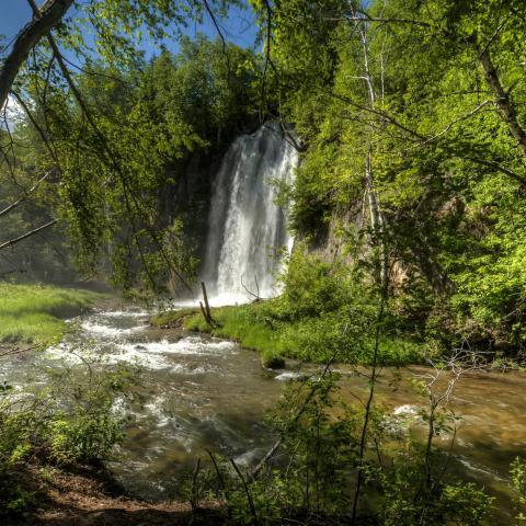 Spearfish Falls, Spearfish Canyon