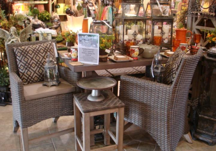 Shop our extensive retail store for home decor and gift items!